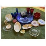 Lot of Misc Glass ware