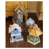 Bird Houses & Feeders (5 Total)