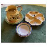 Snack Dish Pitcher & Bowls