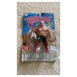 WWF George Steele Off Card