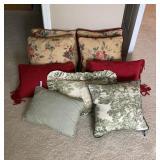 Lot of Throw Pillows