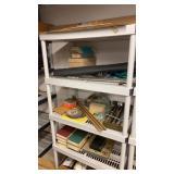 Contents of Shelf Window Screen Books & More