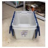 Lot of 2 Storage Totes