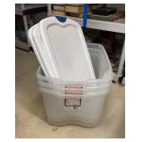 Lot of 3 Storage Totes