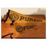 Vintage Purdue Pennants