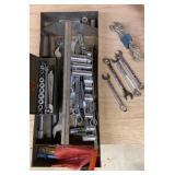 Lot of Sockets & Wrenches