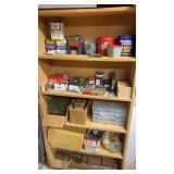 Shelf lot of Hardware