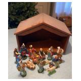Nativity Set Made in Japan