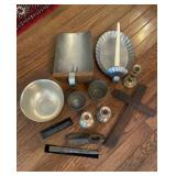 Sterling Candle Holders & More