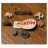 Lot of Political Pins