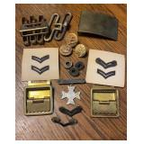 Military Pins & Buckles