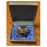 Gold 10k Purdue 1953 Class Ring