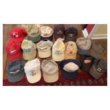 Lot of Baseball Hats