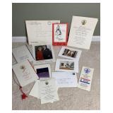 Ronald Reagan Autograph & White House Christmas