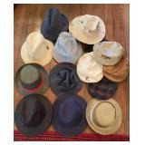 Lot of Mens Hats