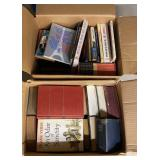 Lot of misc Books (2 Boxes )