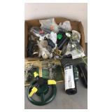 Box of Sprinkler Parts
