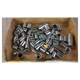Box Lot of Misc Sockets