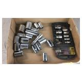Box Lot of 1/2 Drive Sockets