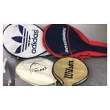 Lot of Tennis Racket Covers