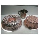 Metal Molds, and aluminum mug