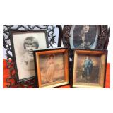 Little Boy Blue and Pinkie Framed Pictures &