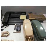 Assorted Push Button Phones and Answering Machine