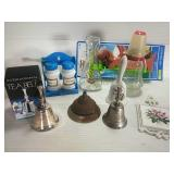 International Silverplated Tea Bell, and other