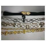4 Fashion/Chain Belts - Large/X Large - 3 NWT