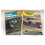 2 1986 Magazines Model Railroader and Railroad