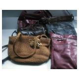 Assorted Purses - Inc Relic and Eric Javits