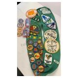 Girl Scout Sheath with Merit