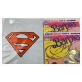 SEALED 1993 DC Superman & 2 Marvel #1 Barbie