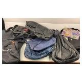 Leather backpacks and other purses travel bags
