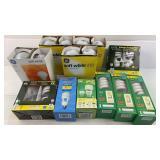 Box of light bulbs