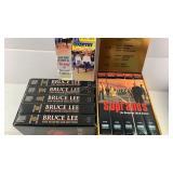 VHS Boxed Sets, Sopranos, Bruce Lee & Line
