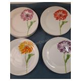 Trisa Plates - Set of 8 Plates, 2 of each color