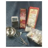 Vintage Swing A Way Ice Shaver, Cookie Press,