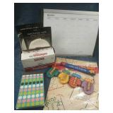 Mounting Tape, Envelopes, Monthly Planner and