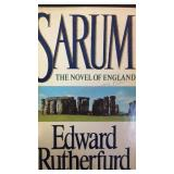 Sarum the novel of England, by Edward Rutherfurd