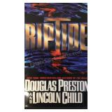 Riptide, by Douglas Preston and Lincoln Child