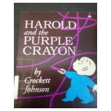 Harold and the purple crayon, by Crockett Johson