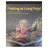 Fishing at long pond, by William T George