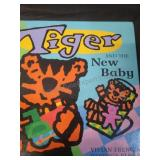 Tiger and the new baby, by Vivian French