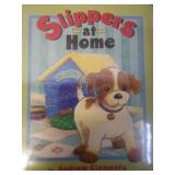 Slippers at home, by Andrew Clements