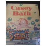 Casey in the bath, by Cynthia Defelice