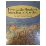 Five little monkeys jumping on the bed, by Eileen
