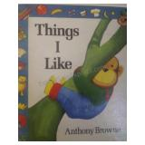 Things i like, by Anthony Browne
