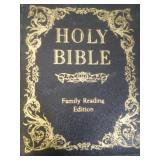 The holy bible family reading edition, by Book
