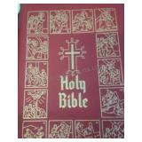 The holy bible, by The Catholic Press Inc